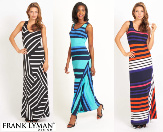 three-frank-lyman-maxi-dresses