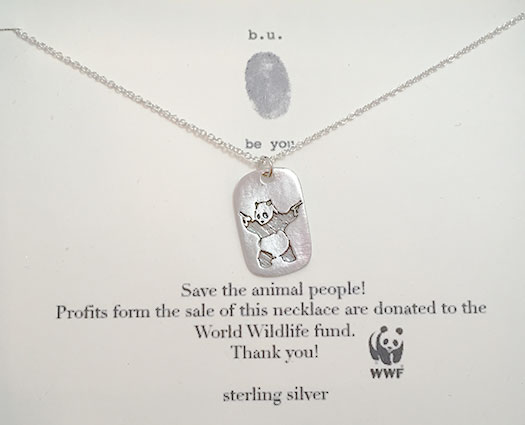 Save the animal people! necklace