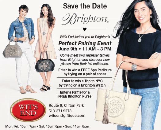 Women with Brighton handbags and jewelry