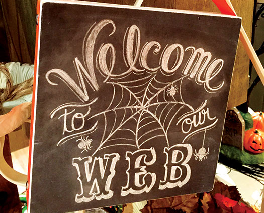 Welcome to our web sign