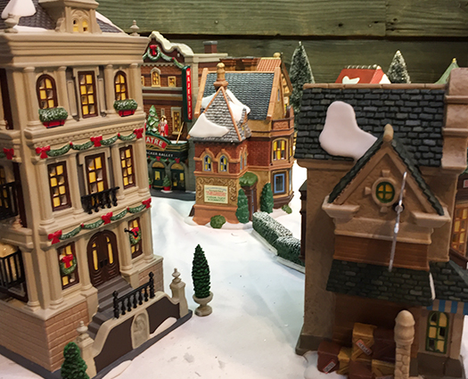 Christmas Department 56 village