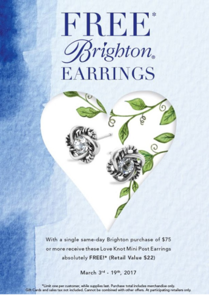 Brighton Love Knot Earrings