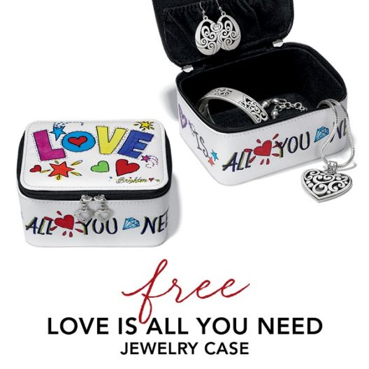Love Is All You Need jewelry case