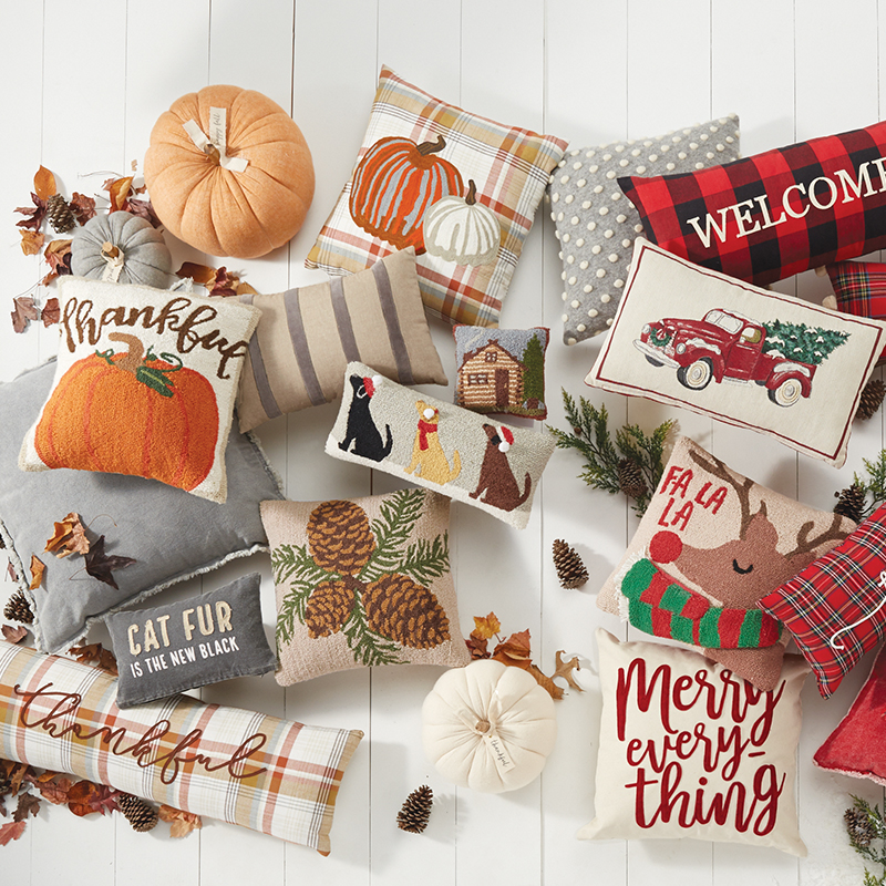 Decorative Holiday Pillows