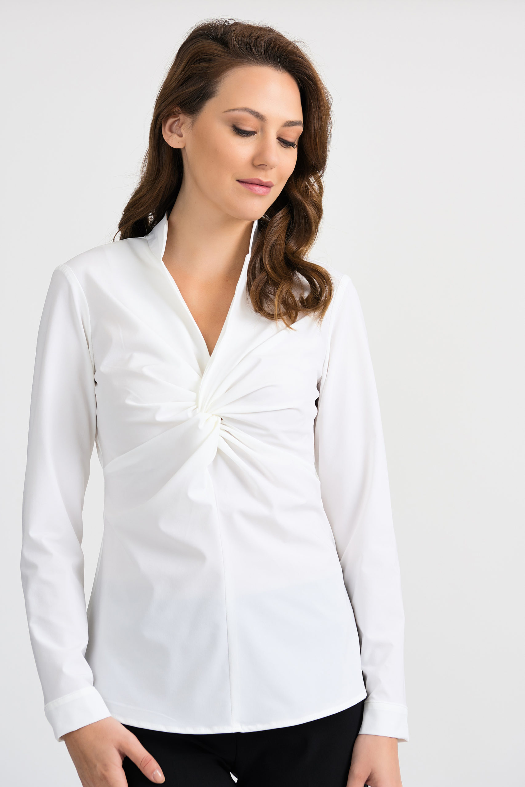 Knot Front Blouse
