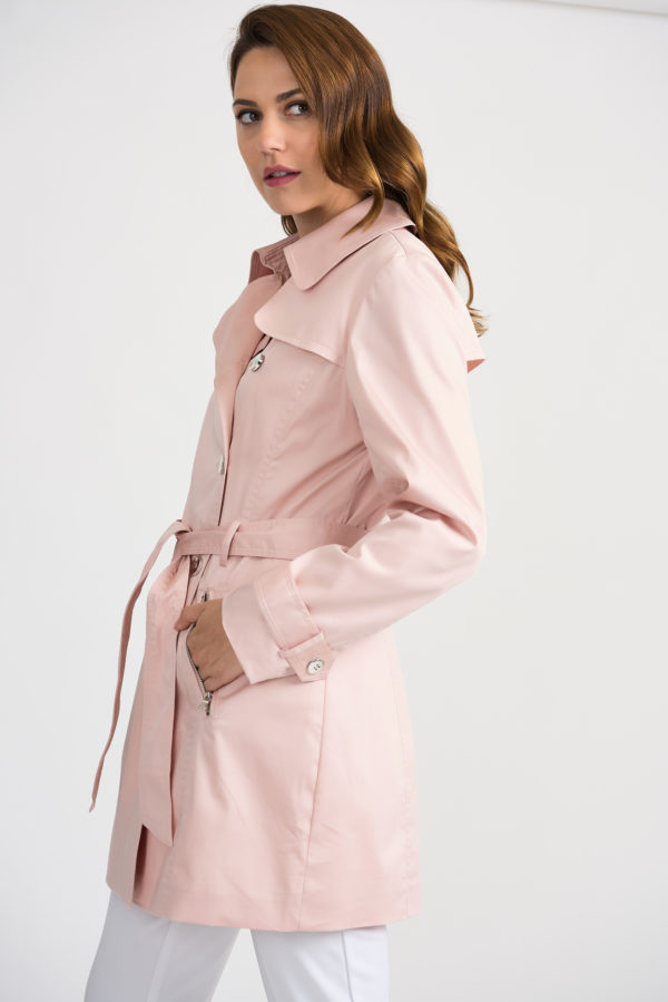 trench coat side